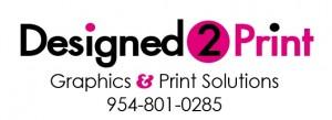 Designed 2 Print Logo