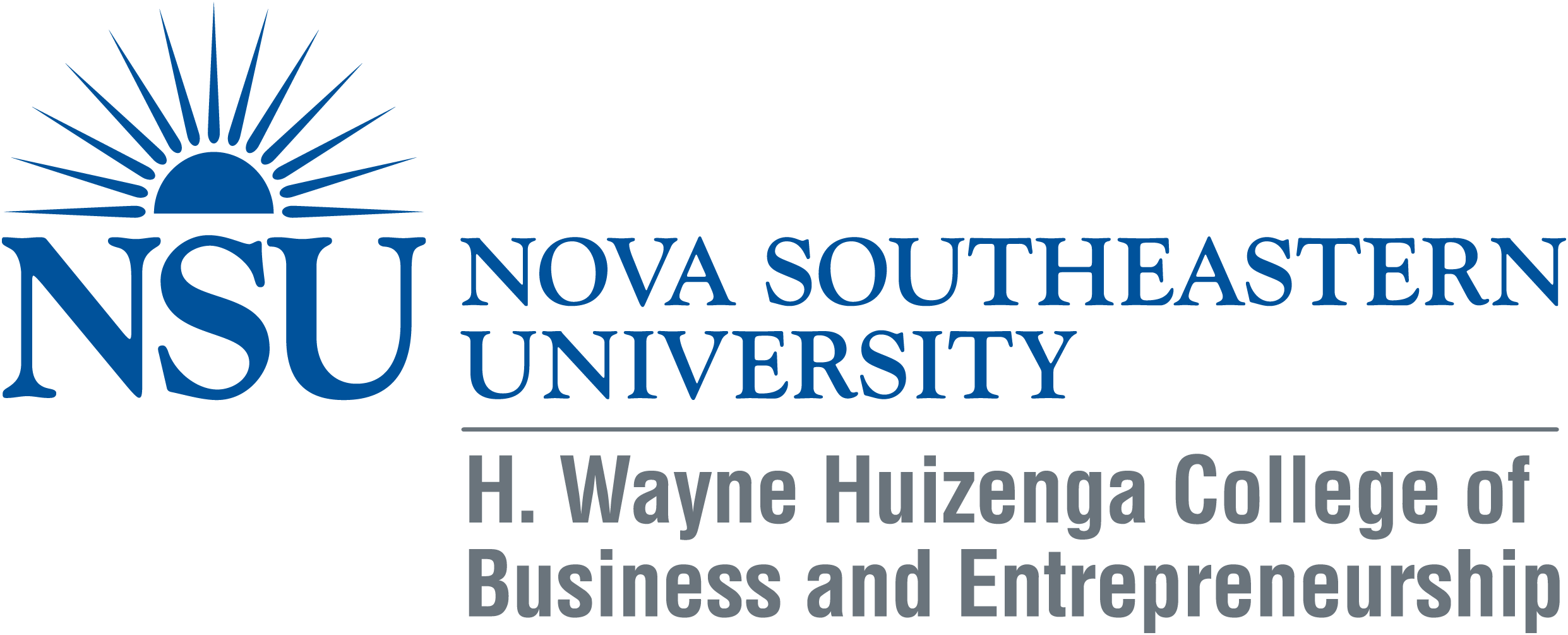 *New Educational Corporate Partner* – NSU Huizenga College of Business